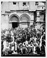 Jerusalem (El-Kouds). Church of the Holy Sepulchre at Easter time LOC matpc.06563.jpg