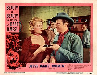 Jesse James' Women - Theatrical poster