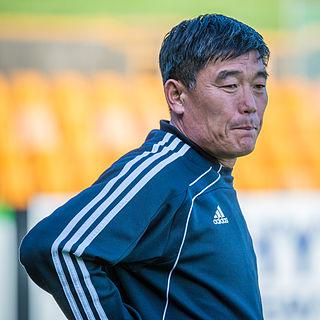 Jo Tong-sop North Korean football manager