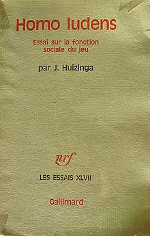 Joan Huizinga, Homo ludens maitrier.jpg