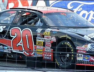 Joey Logano - Logano's 2007 Camping World East Series championship racecar