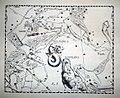 """Johannes Hevelius - Prodromus Astronomia - Volume III """"Firmamentum Sobiescianum, sive uranographia"""" - Tavola S - Sagitta Delphinus et Equuleus.jpg"""