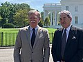 John Bolton and New Zealand Deputy PM Peters at White House.jpg