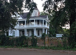 National Register of Historic Places listings in Panola County, Mississippi - Image: John Curtis Kyle House