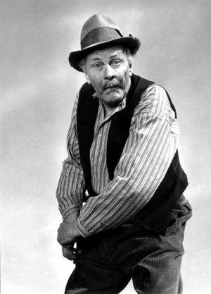 Åsa-Nisse -  John Elfström as  Åsa-Nisse in 1955.