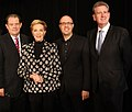 John Frost, Julie Andrews, Phil Bathols, Barry OFarrell (8743745808).jpg