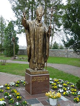 John Paul II Monument in Borkowo Ko?cielne
