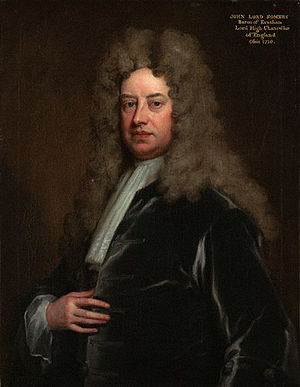 John Somers, 1st Baron Somers - Image: John Somers, Baron Somers by Sir Godfrey Kneller, Bt lowres color