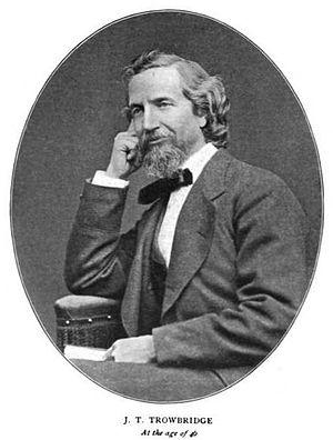 John Townsend Trowbridge - Image: John Townsend Trowbridge at age 45
