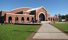 John W. Pope, Jr. Convocation Center (Campbell University).jpg
