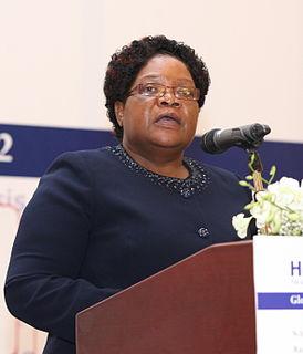 Joice Mujuru Zimbabwean politician