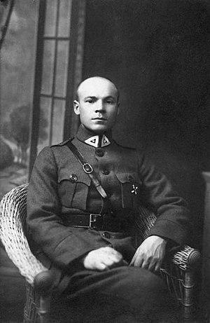 Jonas Acus-Acukas - Jonas Asevičius-Acukas in 1921