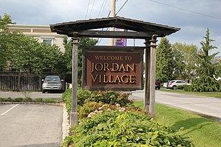 Jordan, Ontario Unincorporated community in Ontario, Canada