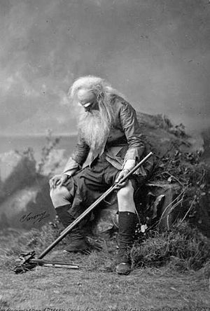 Jefferson as the old Rip Van Winkle, 1896