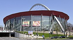 Since 1998 home ice: The Lanxess Arena.