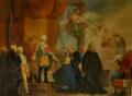 König Carlo Emanuele III von Savoyen erhebt Voghera als Stadt.png