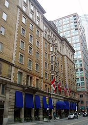King Edward Hotel, in Toronto