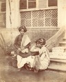 KITLV 87159 - Johnson and Henderson - Two men in Bombay, British India - Before 1860.tif