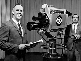 KMGH-TV - The taping of a religious public affairs program at the station in 1968.