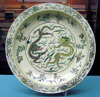 History of Luzon - Chinese porcelain-ware, Kangxi era (1662–1722), Qing Dynasty. Ancient Chinese porcelain excavated in Mindoro, Philippines; proves the existence of trade between the island and Imperial China. This consequently validates Chinese historical records of the area.