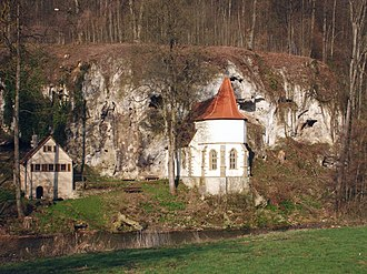 Dörzbach - The chapel of St. Wendel zum Stein.