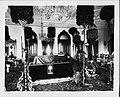 Kapiolani kneeling beside Kalakaua's casket (PP-25-6-023).jpg