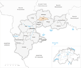 Karte Gemeinde Tobel 1998