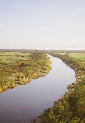 Kasari (river) - The Kasari on its lower course