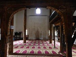 Mahmut Bey Mosque - Mihrab