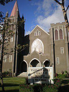 Gothic Revival church located at 766 North King Street in the Kapālama neighborhood of Honolulu, Hawaii