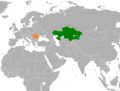 Kazakhstan Romania Locator.png