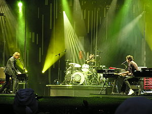 Keane discography - Keane performing at Rock im Park in 2006.