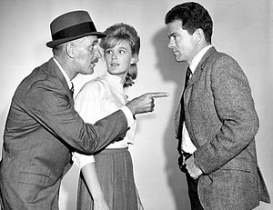 Jack Ging - Keenan Wynn, Linda Evans, and Ging in an episode of TV's The Eleventh Hour (1963)
