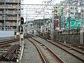 Keihan Korien Station platform - panoramio (10).jpg