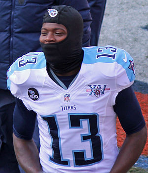 Kendall Wright - Wright with the Titans in December 2013