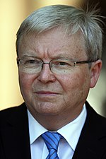 Kevin Rudd In office: 2007-2010; 2013 Age: 63 Kevin Rudd (Pic 12).jpg