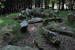 Kilmashogue - Image: Kilmashogue Megalithic Site 2