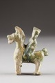 Kinesisk figur från 221-589 - Hallwylska museet - 96172.tif