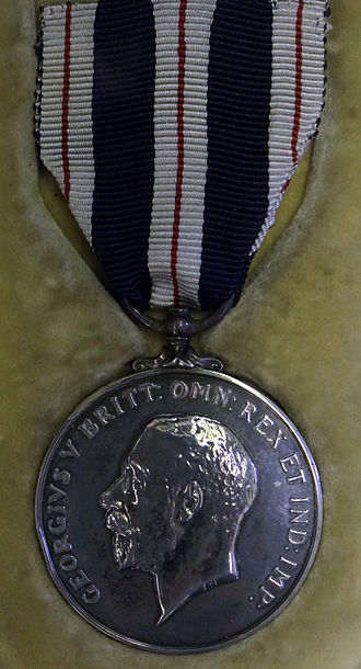Queen's Police Medal - King's Police Medal awarded by George V (1910 to 1936)