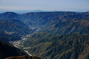 Kiso Valley - Kiso Valley around Ōkuwa, Nagano.