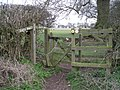 Kissing gate on the Staffordshire Way - geograph.org.uk - 737591.jpg