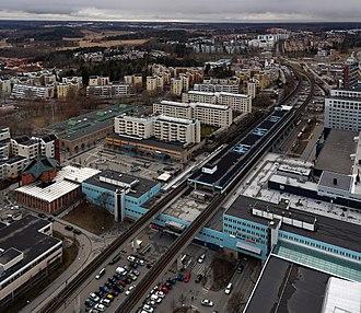 Kista metro station - Image: Kista centrum