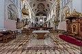 Klagenfurt Stadtpfarrkirche hll. Petrus und Paulus Chor mit Schiff 16082020 9592.jpg
