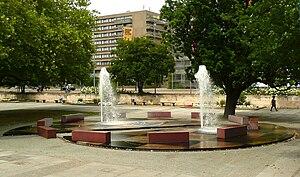 Ludger Gerdes - Ludger Gerdes, Klaus Bahlsen-fountain in Hannover, Germany