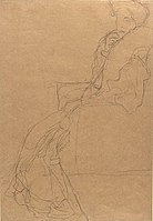 Klimt, Study for Portrait of Fritza Riedler.jpg