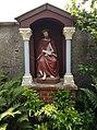 Kloostertuin St-Gregor, Missiehuis St-Michael, Steyl - Christus op de Koude Steen.jpg