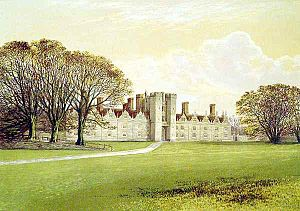 Knole House - Knole in 1880.