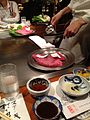 Kobe steak preparation, in kobe, 01.jpg