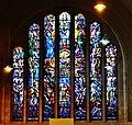 Koekelberg Basilique Nationale Sacré-Coeur Innen Ostfenster 1.jpg
