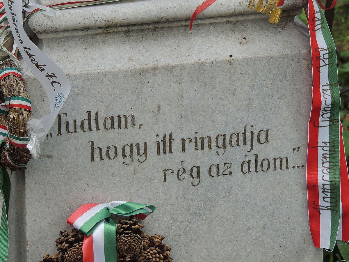 idézetek síremlékre Sírfelirat – Wikipédia